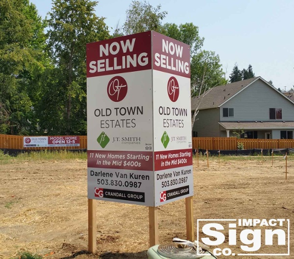 Crandall Group Site Sign