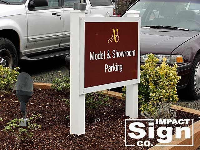 Arbor Homes Sales Office Parking Sign