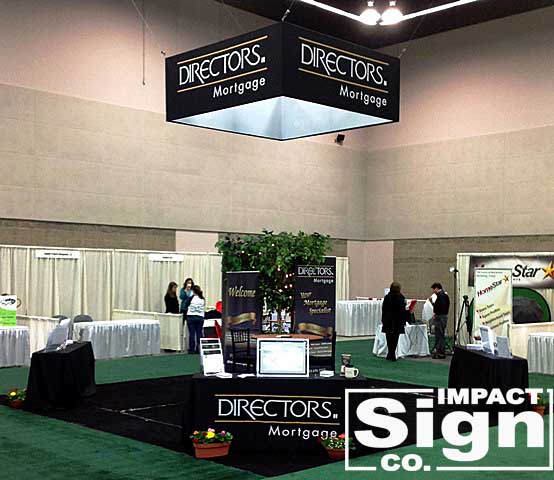 Director's Mortgage Trade Show Sign & Graphics