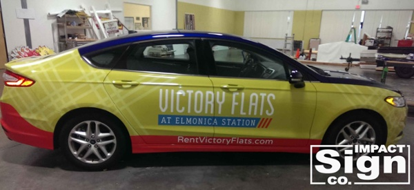 Victory Station Full Vehicle Wrap