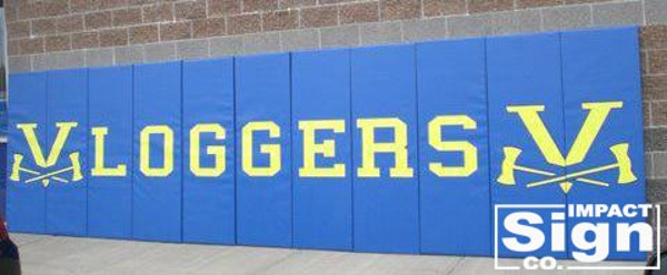Logger High School Mat Decals