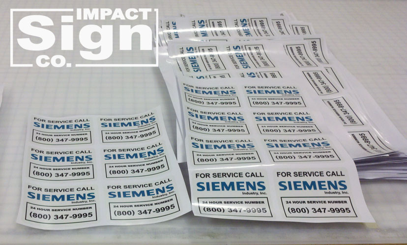 Siemens Decals