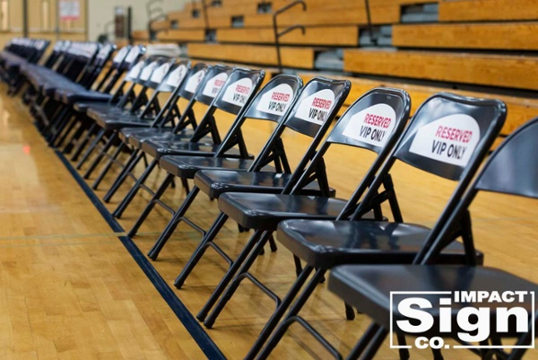 Les Schwab Invitational Chair Decals
