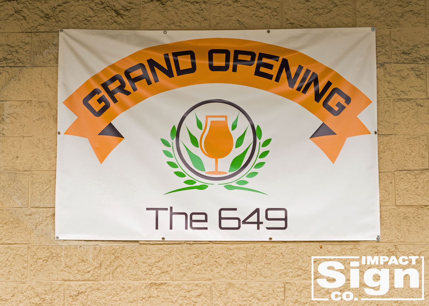 649 Tap House Grand Opening Banner