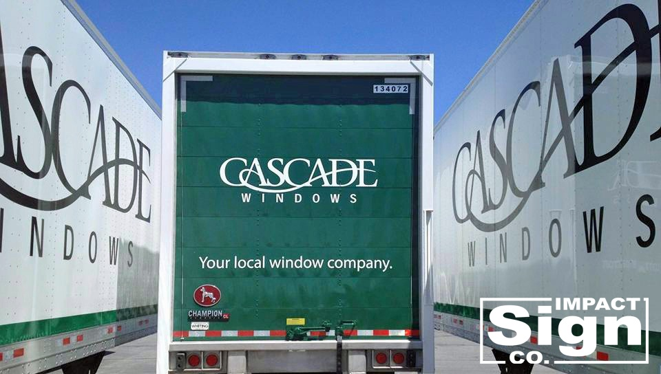 Cascade Windows Semi Truck Graphics