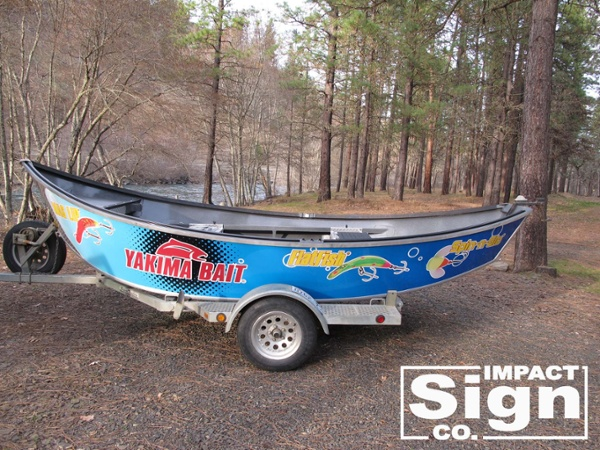 Buzz Ramsey Boat Wrap Graphics