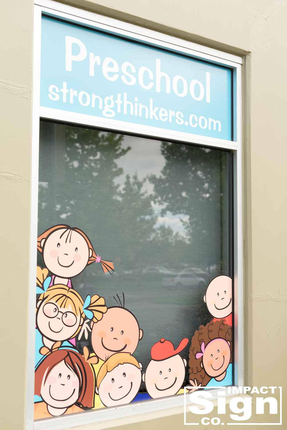 Early Learning Matter Window Graphics