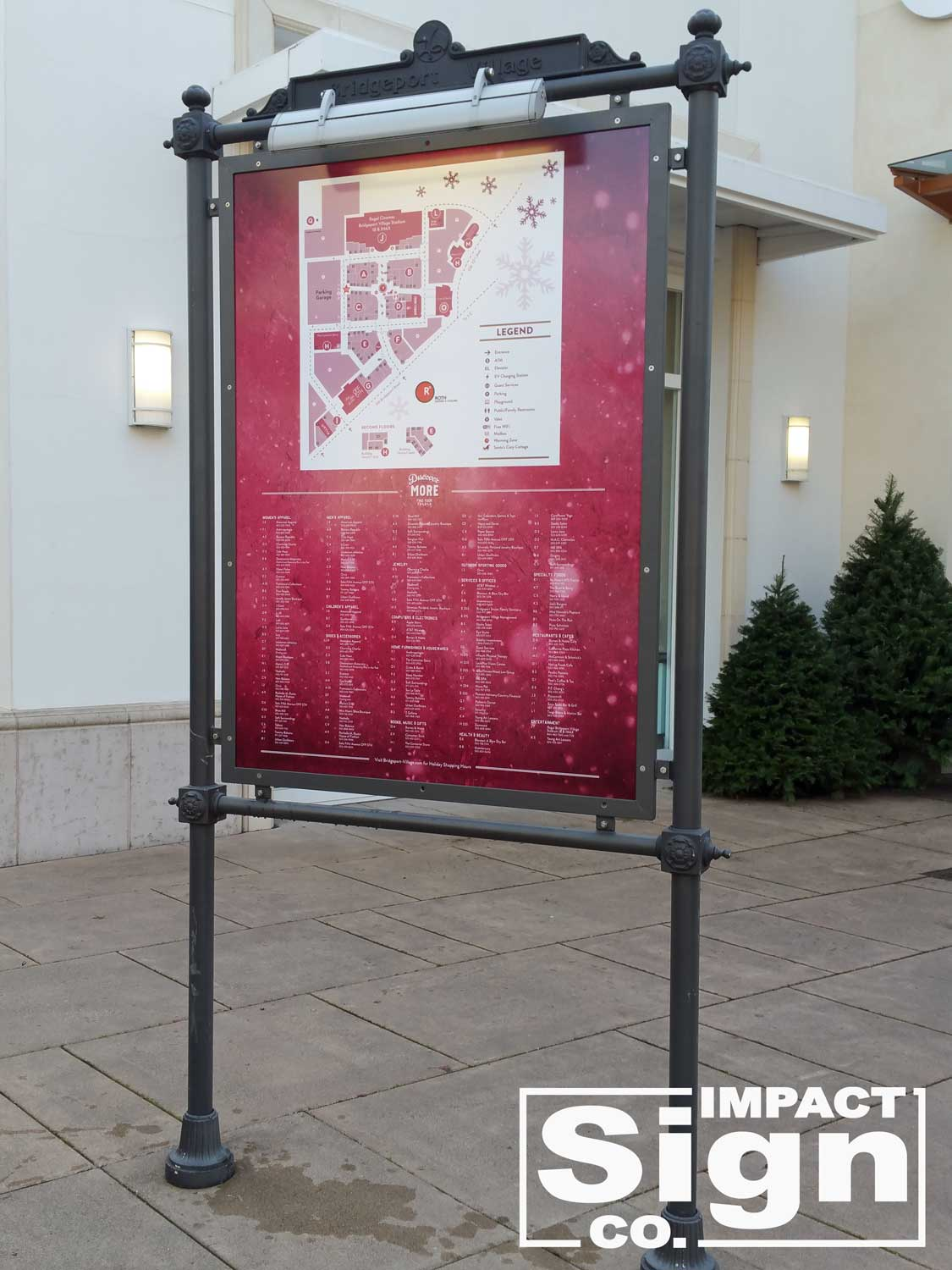 Bridgeport Village Store Directory & Map