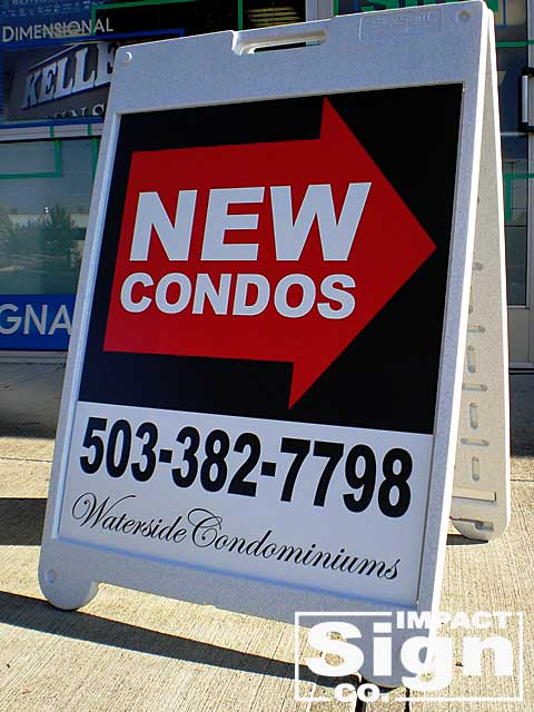 Waterside Condos A-Board